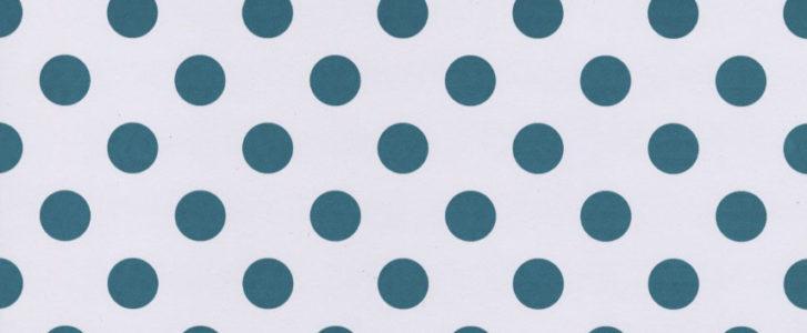 Teal Dots Scrapbooking paper