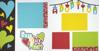 Born Of My Heart Page Kit