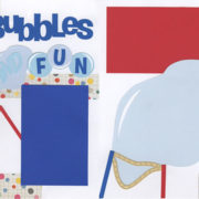 Bubbles And Fun Page Kit