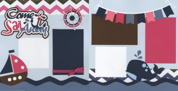 Come Sail Away - Girl Page Kit