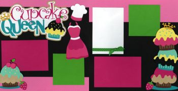 Cupcake Queen Page Kit