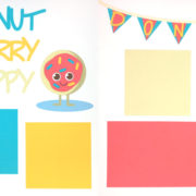 Donut Worry Be Happy Page Kit