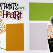 Footprints On My Heart Page Kit