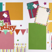 Happy Birthday 13 - Girl Page Kit