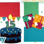 Happy Birthday - Boy 15 Page Kit