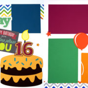 Happy Birthday - Boy 16 Page Kit
