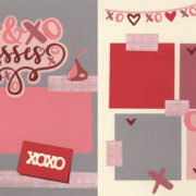 Hugs And Kisses Page Kit