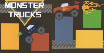 Monster Trucks Page Kit