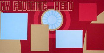 My Favorite Hero - Iron Man Page Kit