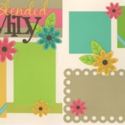Our Blended Family Page Kit