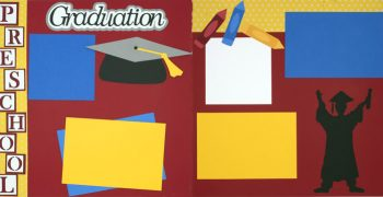 Preschool Graduation Page Kit