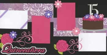 Quinceañera Page Kit