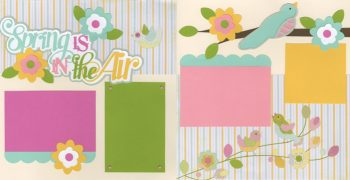 Spring Is In The Air Page Kit
