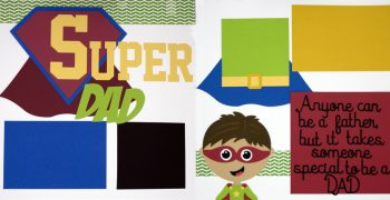 Super Dad Page Kit