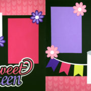 Sweet Sixteen - Girl Page Kit