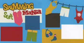 Swimming Suit Mania Page Kit