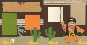 Wild West Page Kit