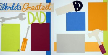 World's Greatest Dad Page Kit