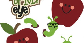 Apple Of My Eye Cutouts