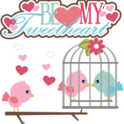 Be My Tweetheart Cutouts