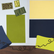 Caution : Boys At Play PRE-MADE Option