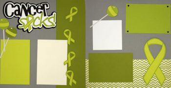 Cancer Sucks - Green PRE-MADE Option