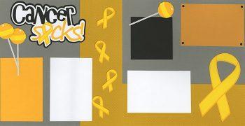 Cancer Sucks - Yellow PRE-MADE Option
