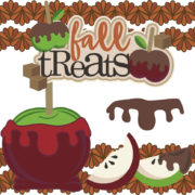 Fall Treats Cutouts