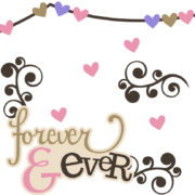 Forever & Ever Cutouts