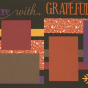 Gather Here With Grateful Hearts Page Kit