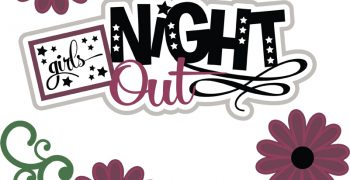 Girls Night Out Cutouts