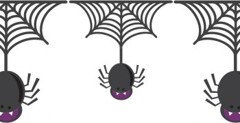 Happy Little Spiders Banner