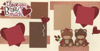 I Love You Beary Much - Couple PRE-MADE Option