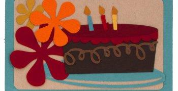 Large Cake Gift Tag