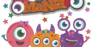 Monster Mania - Girl Cutouts