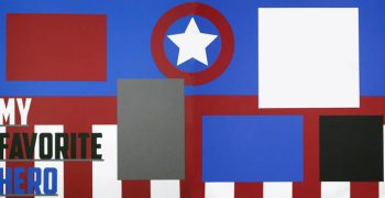 My Favorite Hero - Captain America PRE-MADE Option