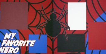 My Favorite Hero - Spiderman PRE-MADE Option