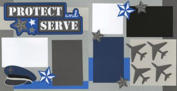 Protect And Serve - Air Force Page Kit