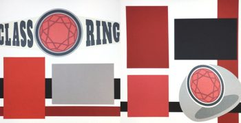 PRE-MADE Class Ring - Red