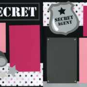 PRE-MADE Top Secret - Girl