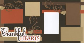 Thankful Hearts Page Kit