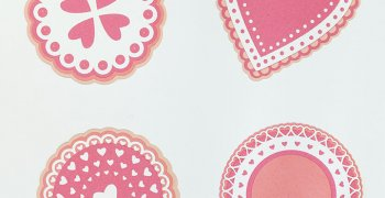 Valentine Doily Gift Tags