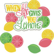 When Life Gives You Lemons Cutouts
