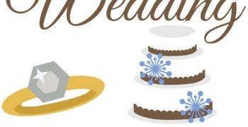 Winter Wedding Cutouts