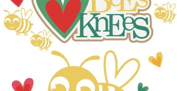 You're The Bees Knees Cutouts