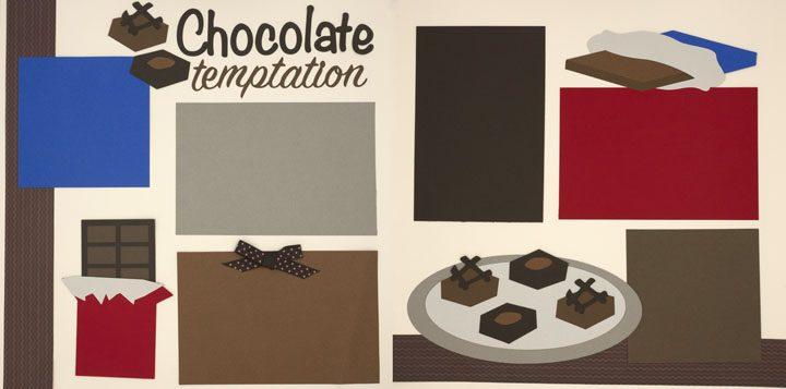 Chocolate Temptation Page Kit
