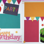 Happy Birthday - Girl 14 Page Kit