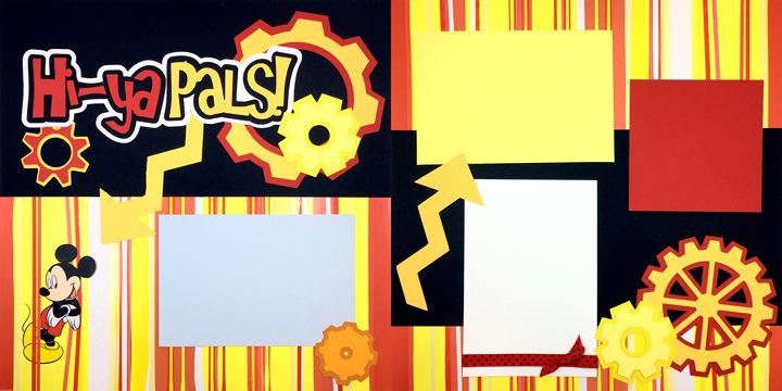 Hi-Ya Pals ! Page Kit