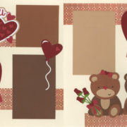 I Love You Beary Much - Couple Page Kit