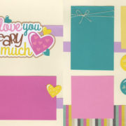 I Love You Beary Much - Girl Page Kit